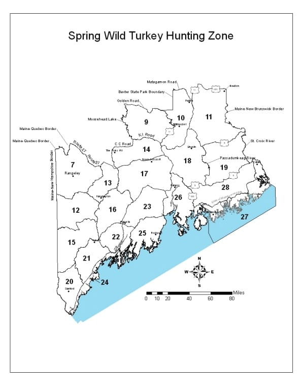 Maine Hunting Zone Maps - Maine Wildlife Management Zones ... on maine zip code map, maine hunting districts map, maine state parks map, university of maine orono map, maine state police zone map, maine regions map, maine hunting zones map, maine on a map, maine power outage map, rockwood maine map, maine natural resource map, ashland maine map, maine narrow gauge railroad map, maine ski areas map, southern maine community college campus map, maine golf courses map, maine expanded archery map, maine lakes map, maine united states map, maine snow depth map,